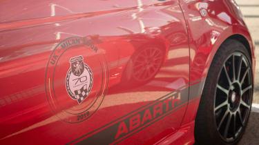 Abarth's 70th Anniversary - anniversary sticker