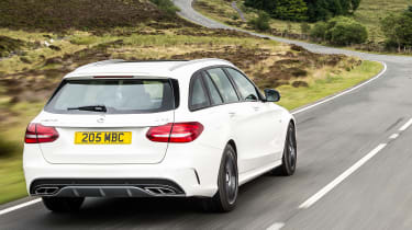 Mercedes-AMG C 43 Estate 2016 - rear tracking