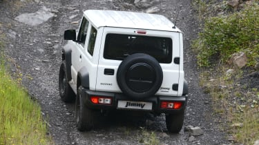 Suzuki Jimny Commercial - rear