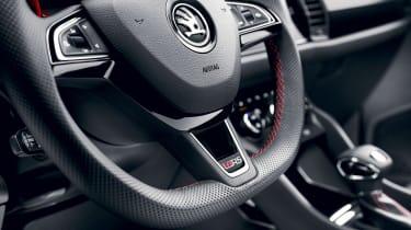Skoda Kodiaq vRS - steering wheel