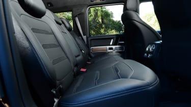 G 63 Rear seats