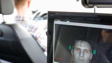 Accident free future - eye sensor