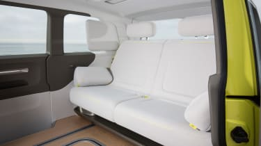 Volkswagen I.D. Buzz concept review - rear seats