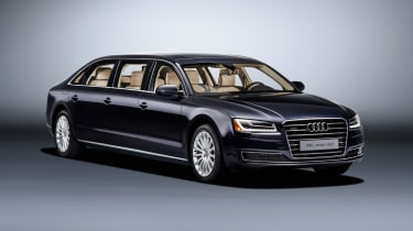 Audi A8 L Extended front