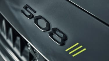 Peugeot 508 Sport Engineered concept - front 508 badge
