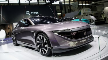 Byton K-Byte Concept - show front