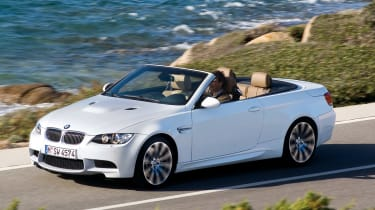 BMW M3 Convertible front