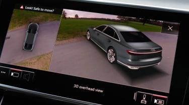Audi A8 - reversing camera