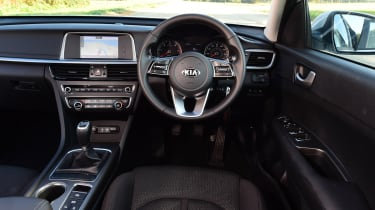 Kia Optima - interior