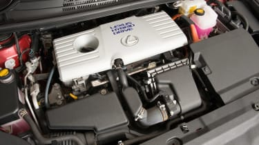Used Lexus CT 200h - engine