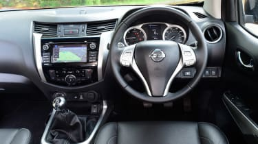 Nissan Navara long-term - interior