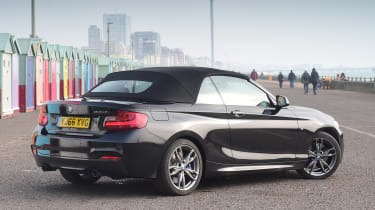 BMW M240i long term first report - rear static