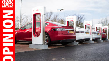 Opinion - Tesla superchargers