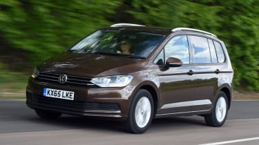 Volkswagen Touran 2016 - front tracking