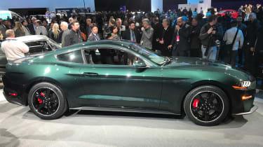 Ford Bullitt Mustang GT - Detroit side