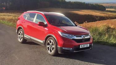 Honda CR-V: long-term test - front 3/4 static