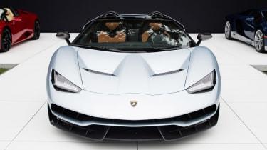 Lamborghini Centenario Roadster front