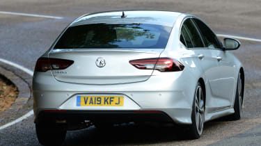 Vauxhall Insignia Grand Sport - rear cornering