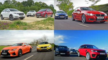 Head-to-head: Best car group tests of 2015