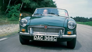 MGB - full front