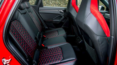 Audi RS Q3 - rear seats