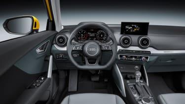 Audi Q2 Yellow dash