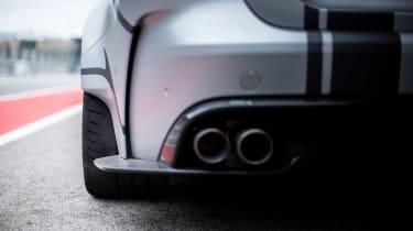Jaguar XE SV Project 8 - exhaust