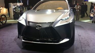 Lexus LF-NX front tracking