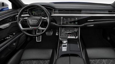 Audi S8 - dash