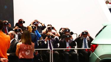 Paris Motor Show virtual reality