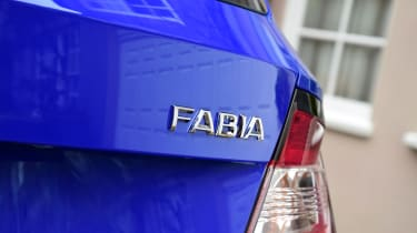 Skoda Fabia SE L: long-term test review - first report rear badge