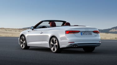 New Audi A5 Cabriolet 2017 roof down