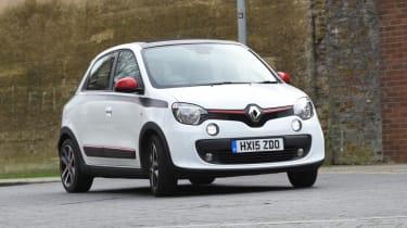 Renault Twingo - front cornering