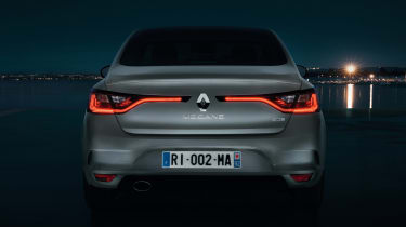New Renault Megane Grand Coupe - rear dark