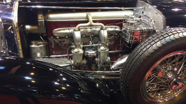 "Mercedes-Benz Type SS ""Sports Tourer"" engine - Retromobile"