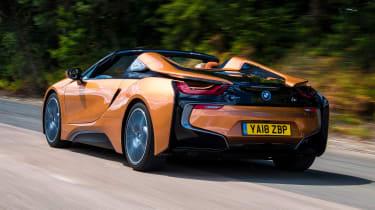 BMW i8 Roadster - rear