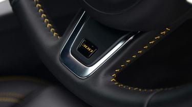 Jaguar XE 300 Sport - steering wheel detail