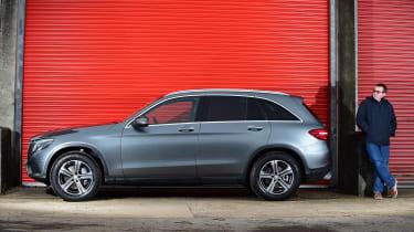 Mercedes GLC long-term fourth report - side