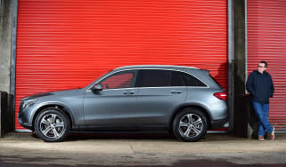 Mercedes GLC long-term fourth report - side