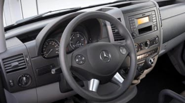 Mercedes have a wide array of options for the Sprinter.