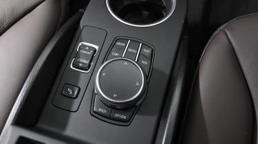 BMW i3 centre console
