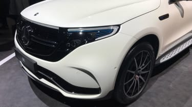 Mercedes EQC front grille