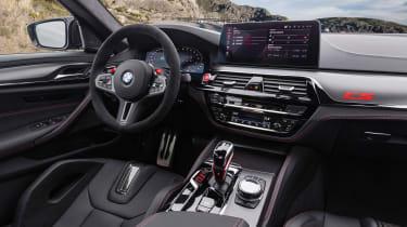 BMW M5 CS - dash