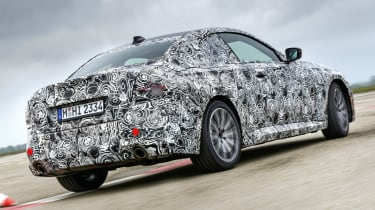 BMW 2 Series Coupe prototype - rear action
