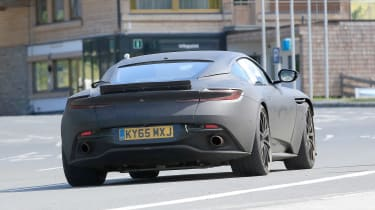 Aston Martin DB11 S spies rear