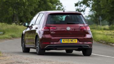 VW Golf rear corner