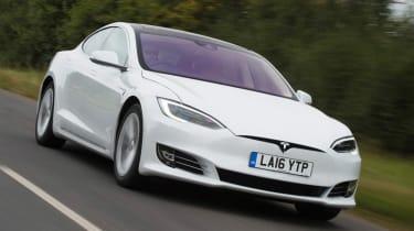 Tesla Model S - Best executive cars