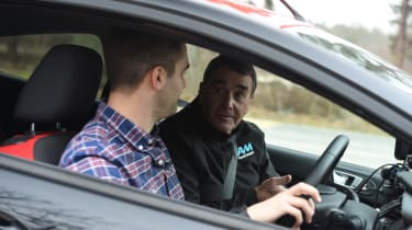Nigel Mansell driving tips - interior discussion