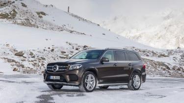 Mercedes GLS front quarter static