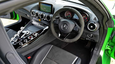 Mercedes AMG GT R - interior